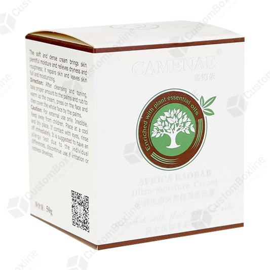 Custom CBD Cream Box Packaging