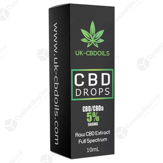 Custom CBD Drops Boxes