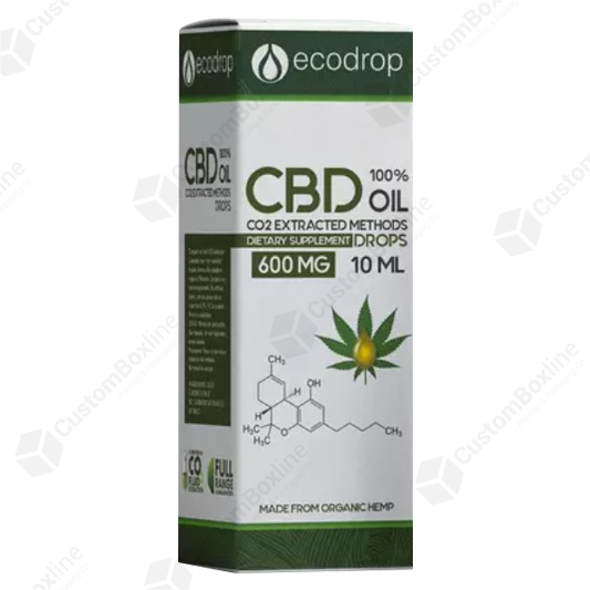 Custom CBD EXTRACTED DROPS BOXES
