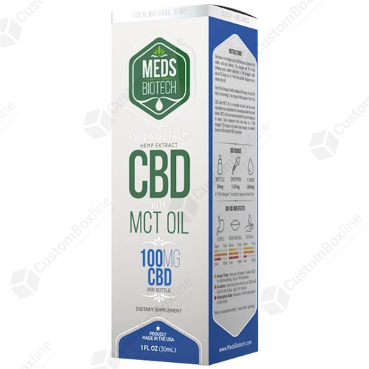 Custom CBD Oil Boxes