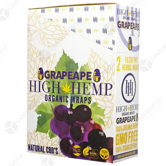 Custom CBD Organic Wrap Packaging
