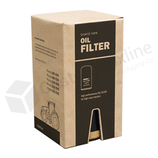 Automotive Packaging -  Oil Filter Corrugated