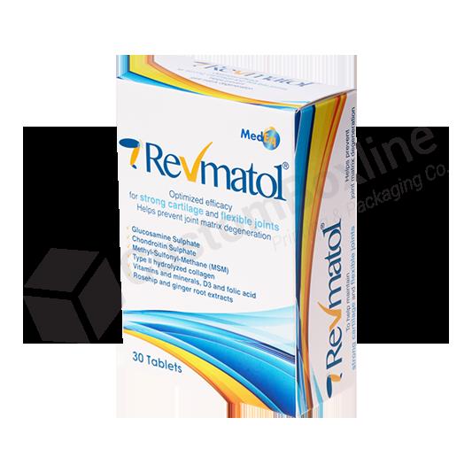Cardboard Pharmaceutical Product Packaging