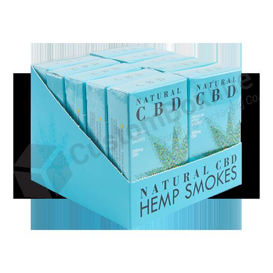 CBD Hemp Pre Roll Joint Display Box