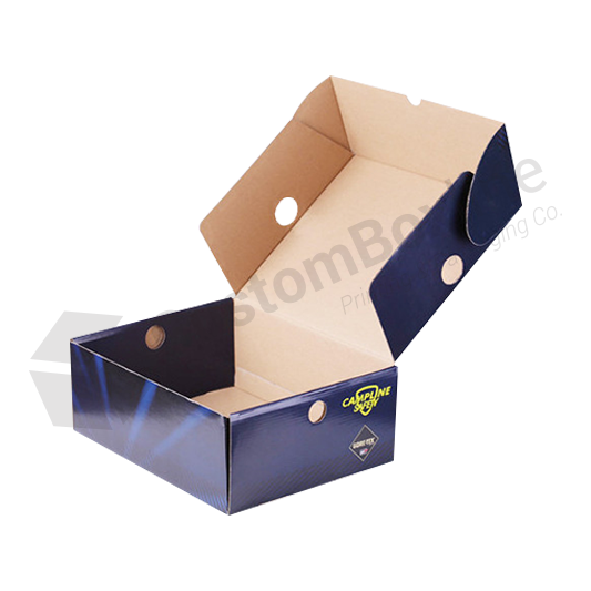 Corrugated Paper Shoe Box Packaging