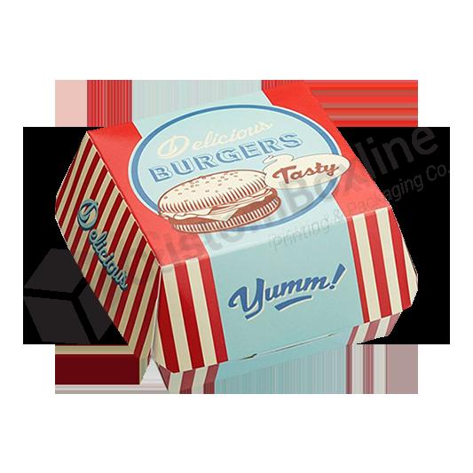 Custom Box Burgers