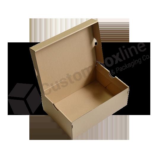 Eco Friendly Kraft Paper Shoe Box