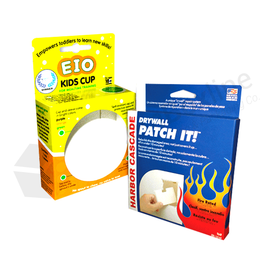 Hang Tabs Pharmaceutical Product Packaging