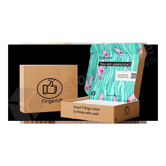 Kraft Tuck Top Mailer Boxes