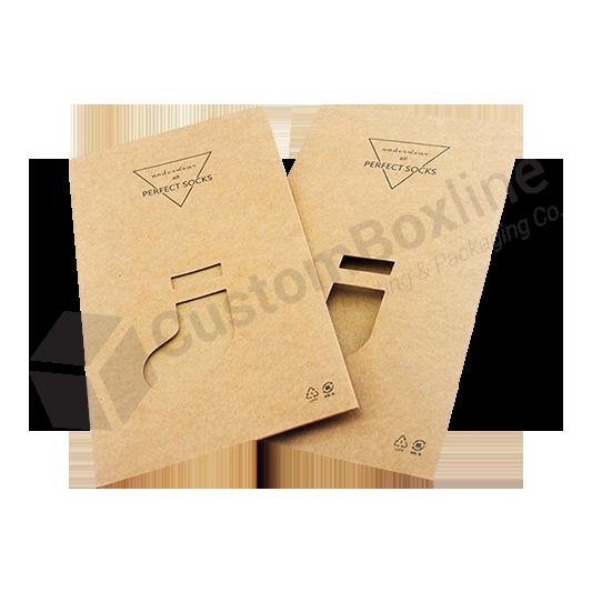Packaging Paper Socks Box