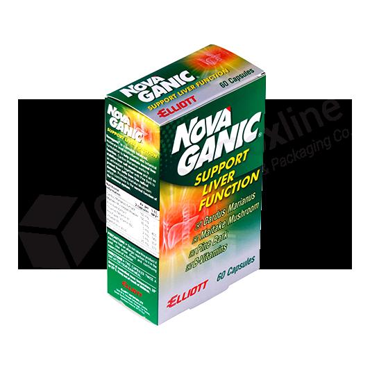 Pharmaceutical Packaging - Capsule Boxes