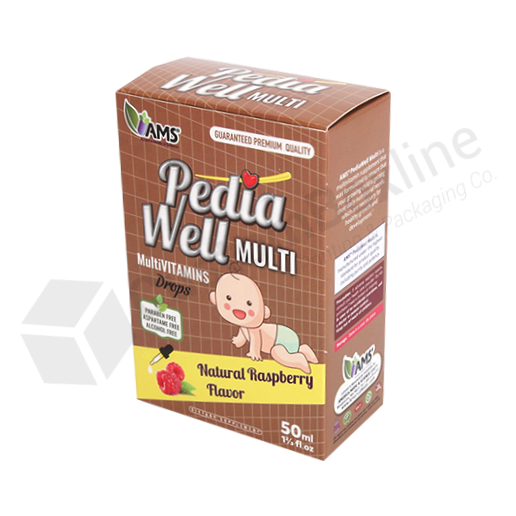 Pharmaceutical Packaging - Vitamins Product Boxes