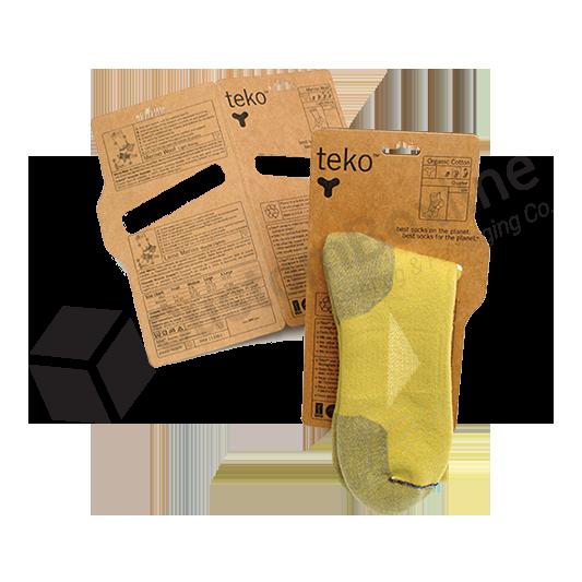 Sock Packaging Header Cards